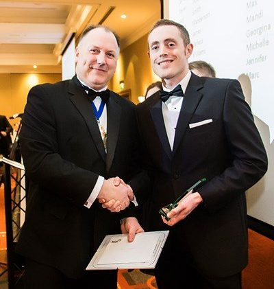 Paul Wiggins 2015 CII Young Achiever Award Winner